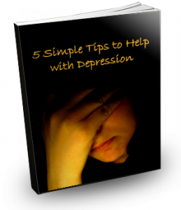 five tips for depression report